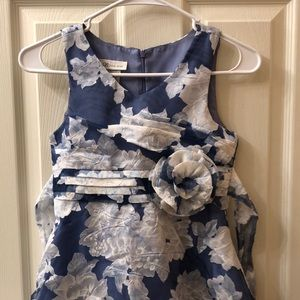 Girls Size 8 Flower Print Dress
